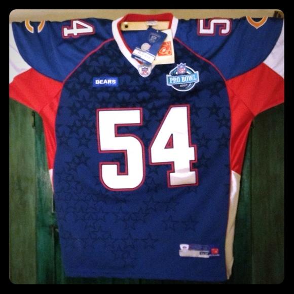 best service ded40 bcd2f 2 Authentic Urlacher jerseys (Pro Bowl 2007)